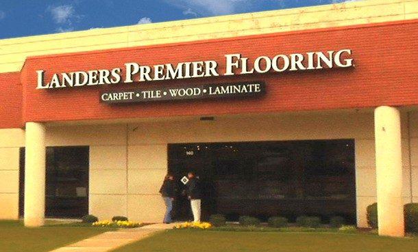 Landers Premier Flooring Storefront
