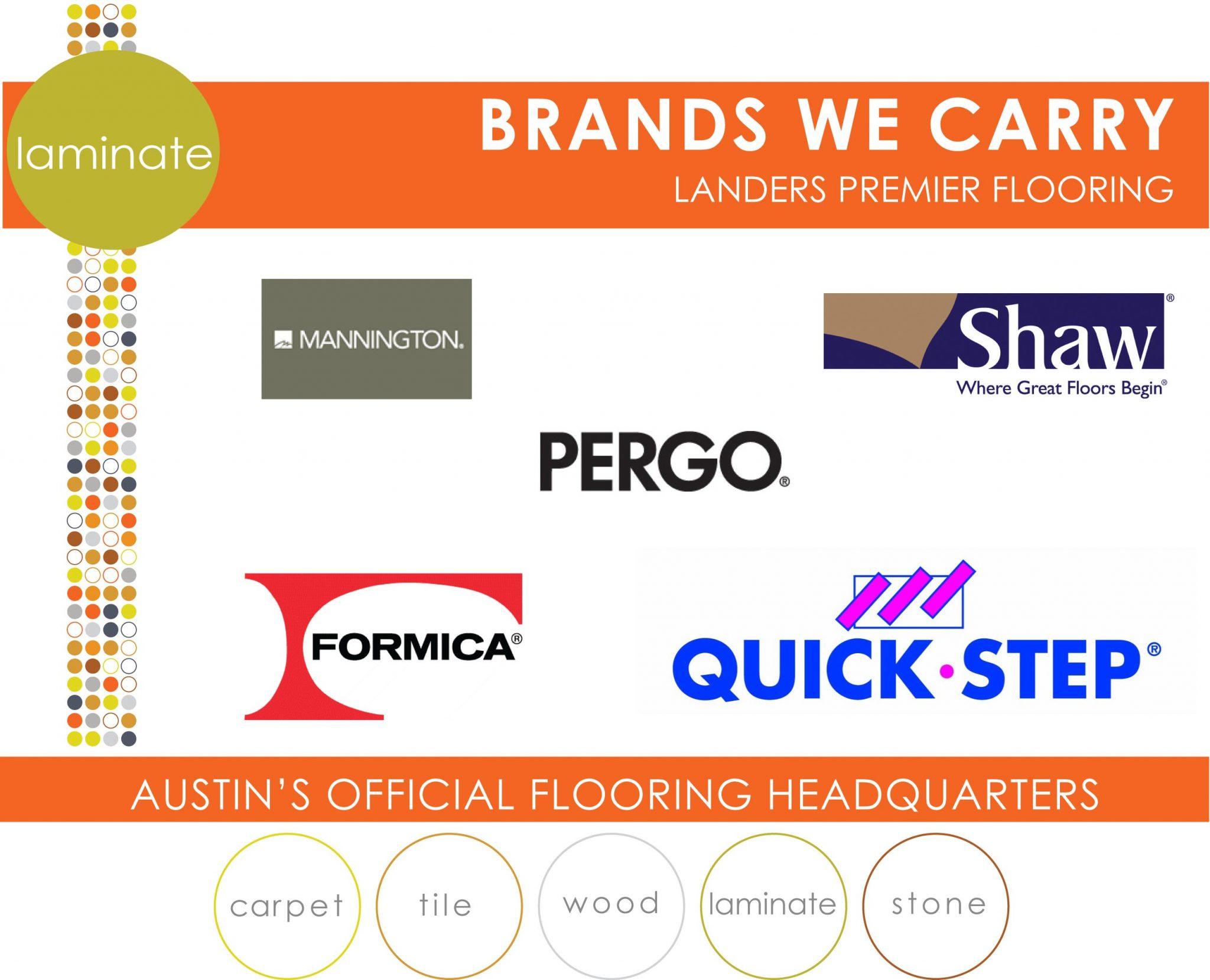 Laminate Brands Landers Premier Flooring Austin Tx