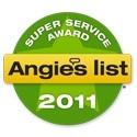 2011 Angies Super Service Award